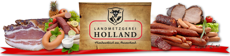 Logo Landmetzgerei Holland
